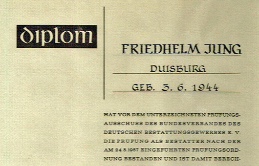 Diplom Friedhelm Jung